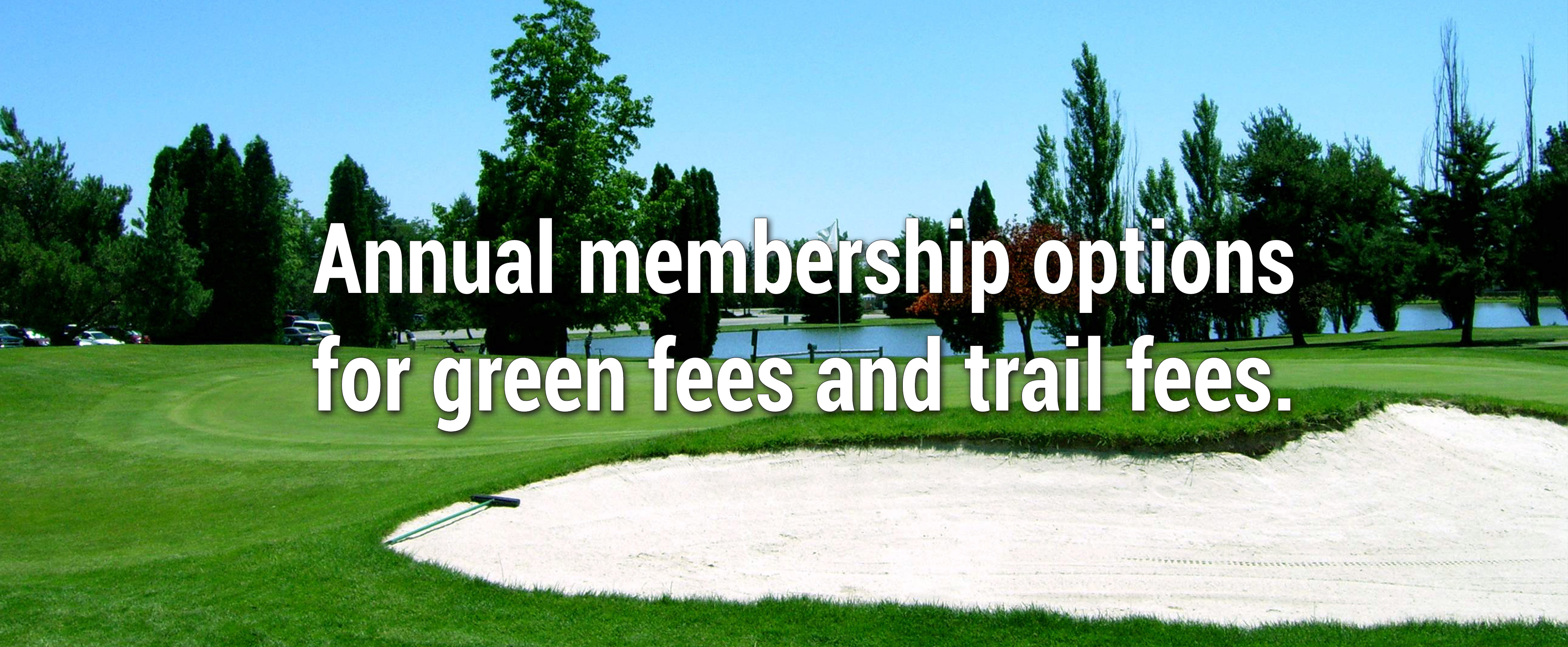 annual golf membership rates for eagle hills golf course green
