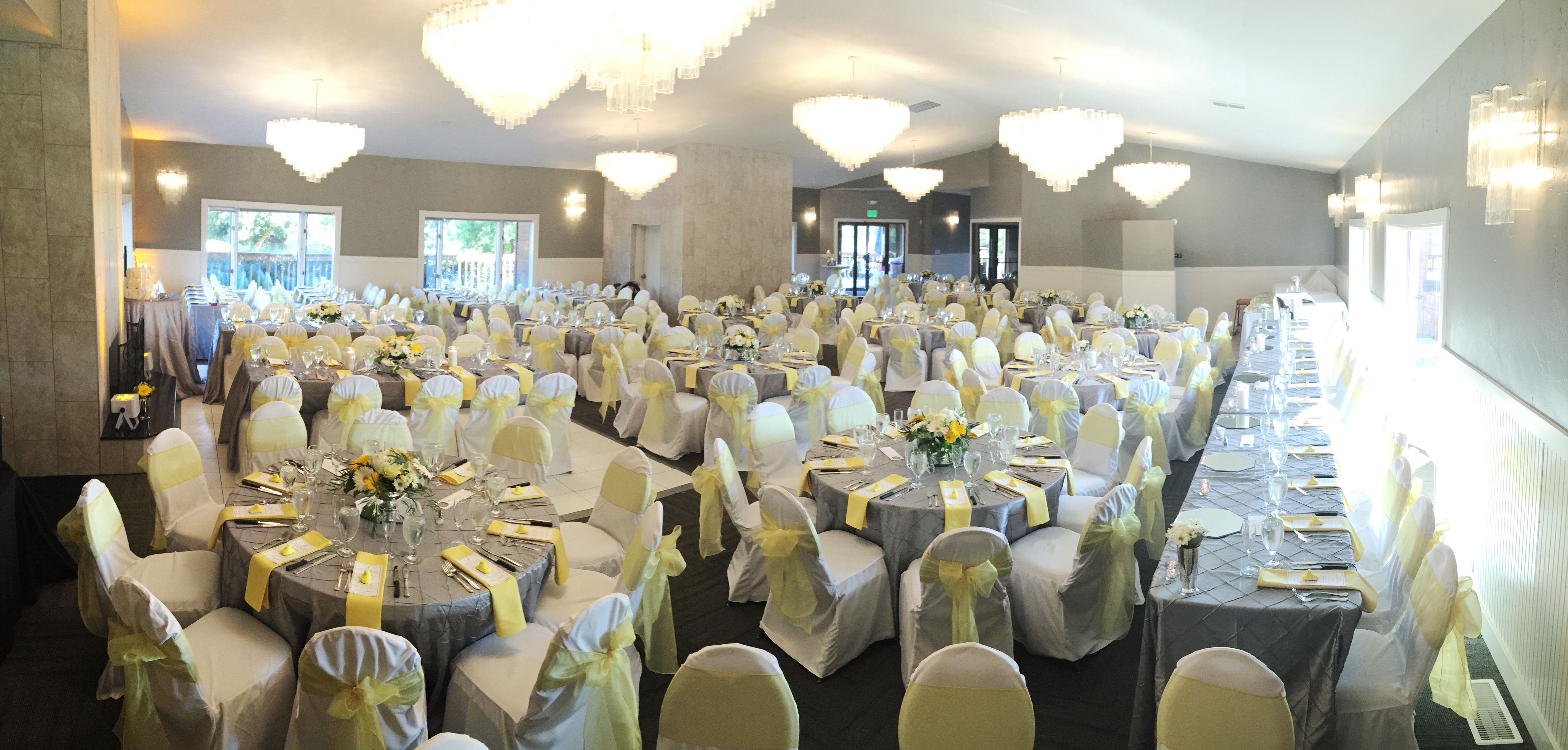 Wedding Reception Set For Over 200 In The Cedars Ballroom Eagle