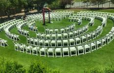 Circular Ceremony Layout